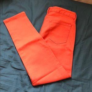 Orange Jeans!